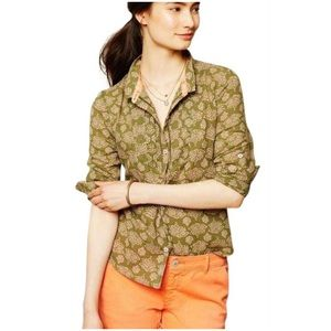 Anthropologie Holding Horses Button Down Shirt 0